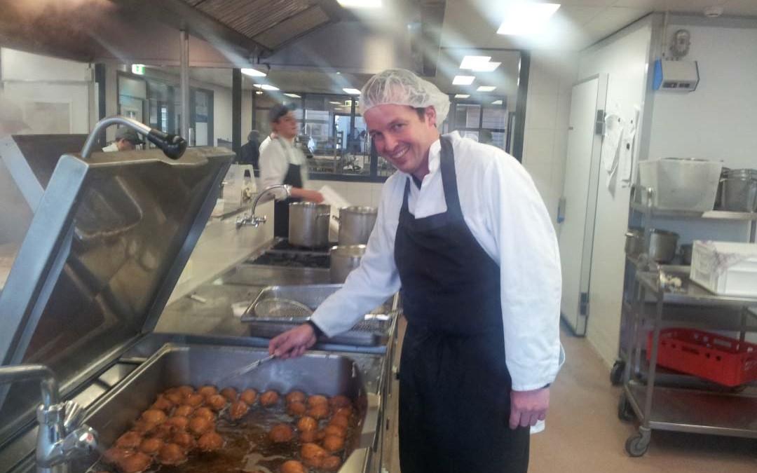 Oliebollenactie Hofmans Catering groot succes