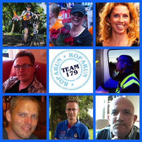 Maak kennis met de fietsers en chauffeurs/navigators van FriendsRun4Life